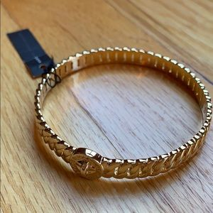 NWT Marc by Marc Jacobs gold chain link bangle